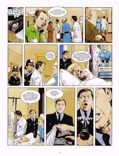 L'Exécuteur  la confession John Wagner Arthur Ranson  BD roman noir scénariste dessinateur thriller violence combat mortel