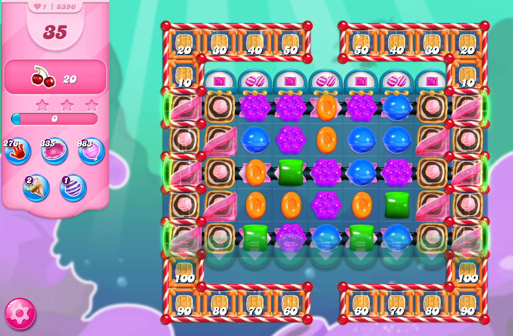 Candy Crush Saga level 8396