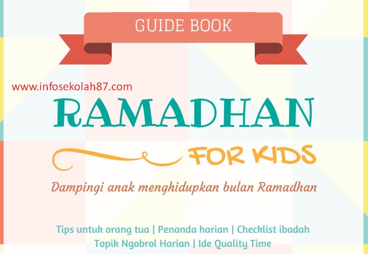 Buku Panduan Kegiatan Ramadhan Untuk Anak-anak