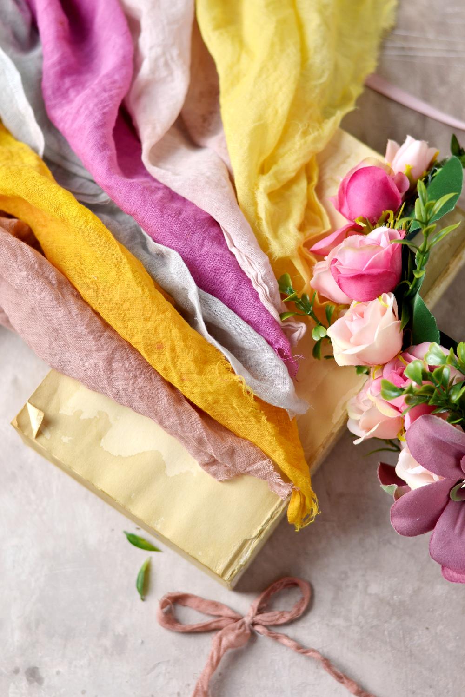 Cómo teñir telas con tintes naturales ¡Tintes 100% ecológicos!_6
