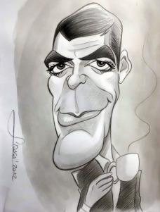 George Clooney por Jordi Arasa