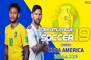 Download DLS 19 Copa America (Dream League Soccer) Mod Update 2019