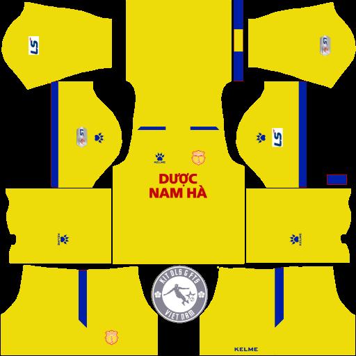 Kits Dược Nam Hà Nam Định 2020 - Dream League Soccer 2019 & First Touch Soccer