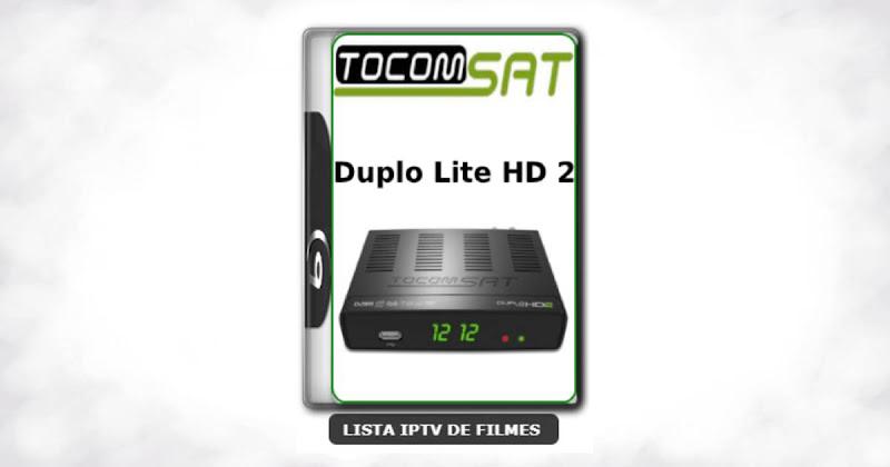 Tocomsat Duplo Lite HD 2 Nova Atualização Satélite SKS Keys 61w ON V1.74