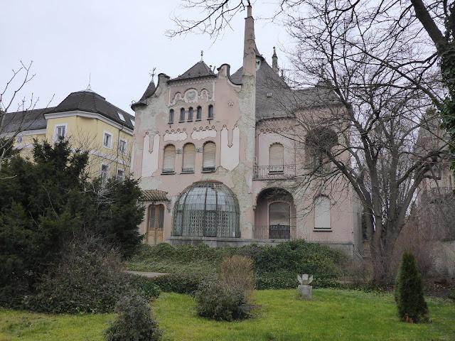 façade Art Nouveau de Sipeki Balazs-Villa Budapest Hongrie