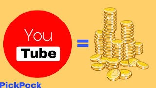 How To Make Huge Money On YouTube In Just 3 Simple Steps , PickPock, PickPock.co.in