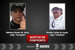 Pai e filho suspeitos de envolvimento em homicídio e crimes de pistolagem morrem em troca de tiros com policiais