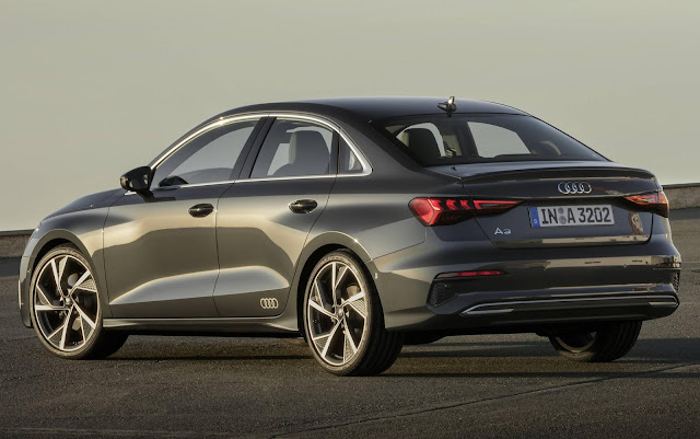 Novo Audi A3 Sedan 2021 - traseira