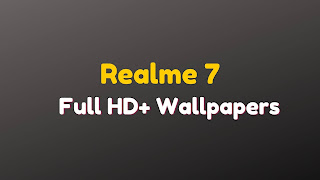 Realme 7 Best Wallpapers [Full HD] Download