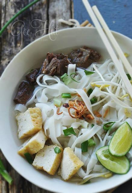 Resepi Kuetiaw Sup Untuk Sarapan