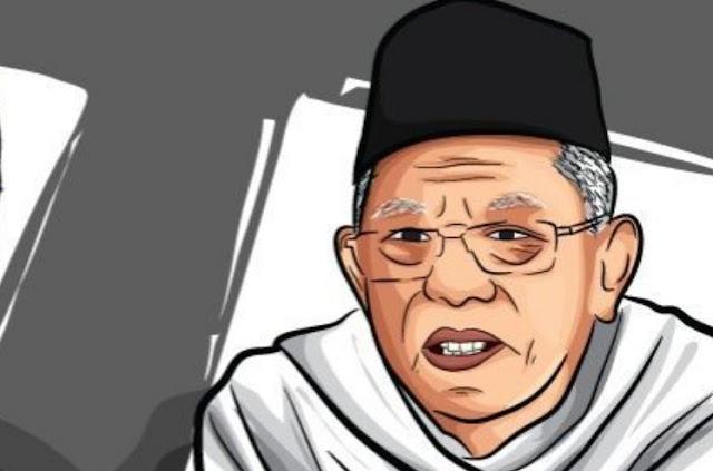 Ma'ruf Amin Akan Jadi Wapres Tertua Sepanjang Sejarah Indonesia