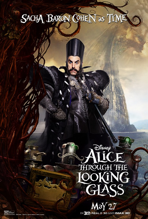 Alice Through the Looking Glass Time poster