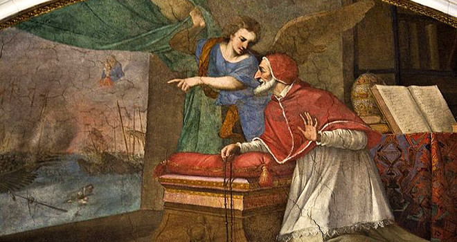 Pope St. Pius V, pray for us.