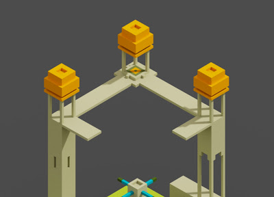 Voxel Model with Diffuse material in MagicaVoxel