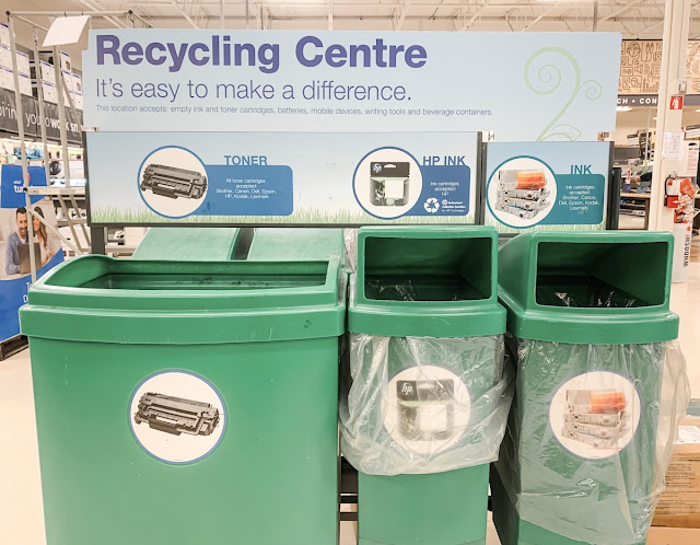 Staples Canada Superpower your School Contest - ink recycling program
