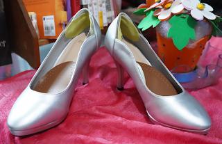 Wedding Shoes SIlver DMK Heels