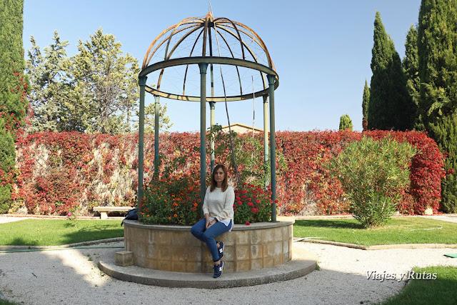 Jardines del Monasterio de la Oliva, Navarra