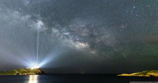 Η εκπληκτική φωτογραφία της NASA που ο ναός του Σουνίου «φωτίζει» όλο τον Γαλαξία