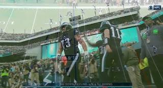 Eagles vs Broncos NFL week 9 match picture