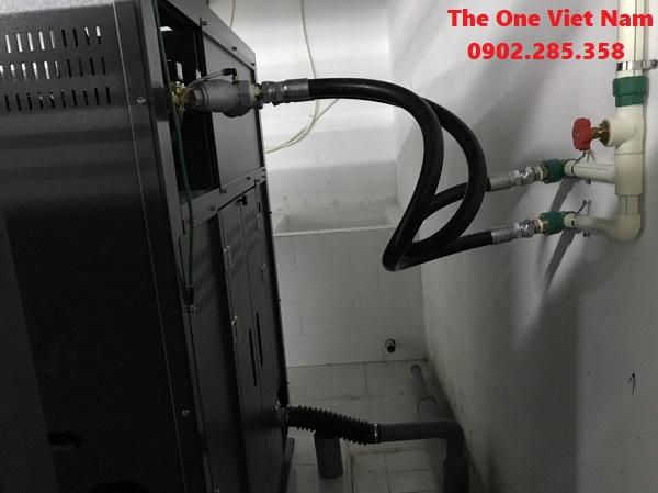 Vận chuyển máy giặt công nghiệp tới bệnh viện