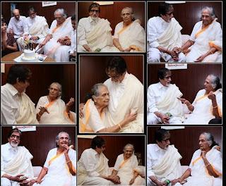 Amitabh Bachchan with actris Sulochna