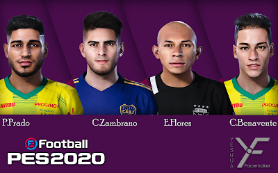 PES 2020 Facepack 2 by Yeshua Facemaker