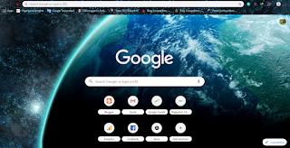 mengganti tampilan browser chrome