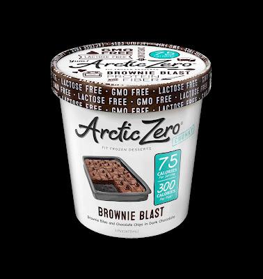 arctic zero lactose free whey protein ice cream fit frozen dessert brownie blast