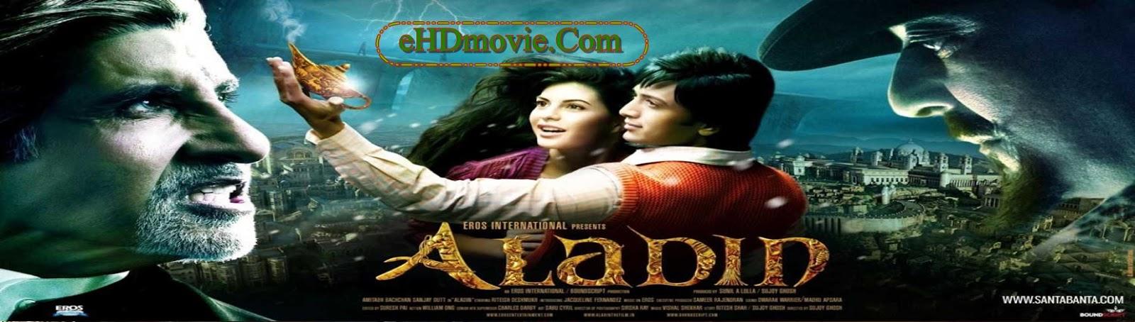 Aladin 2009 Full Movie Hindi 720p ORG BRRip 550MB HEVC ESubs Free Download