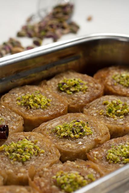 Saragli - grčki saftasti kolač