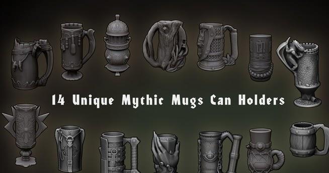 Includes free can inserts Dragon Blood II Mythic Mug
