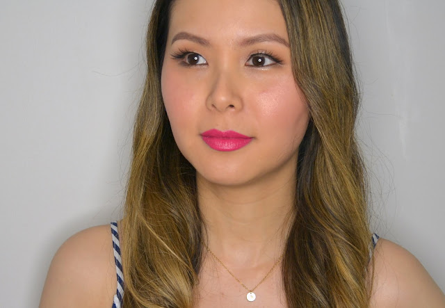 Mary Kay Lipstick Pink Makeup Look