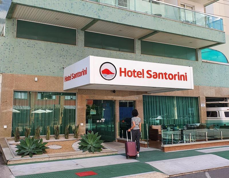 Hotel Santorini em Vila Velha - ES