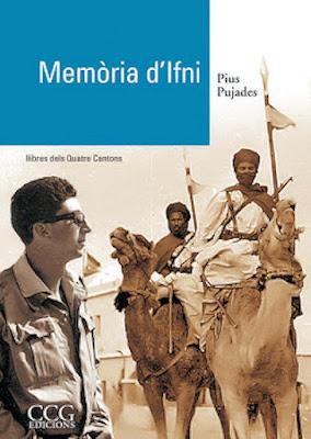 """Portada del libro """"Memoria d'Ifni"""""""