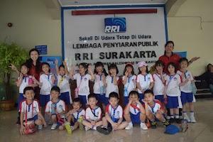 Outing Class TK Kristen Kalam Kudus di RRI Surakarta