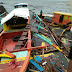 'Salome' wrecks 13 boats in Tabaco City