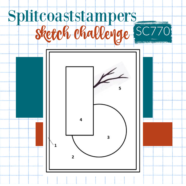 Splitcoaststampers Sketch Challenge 770