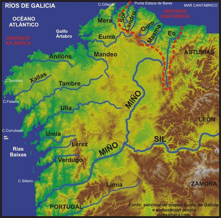 Rio Tambre Mapa Fisico.Temas 9 10 By Bibi Soto Novo On Prezi