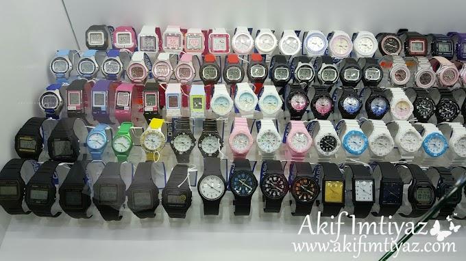 Jam Tangan Casio Untuk Kakak Insyirah