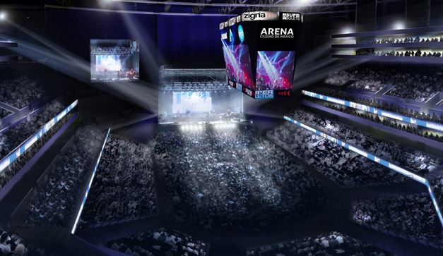 Arena Ciudad de Mexico por Dentro en directo