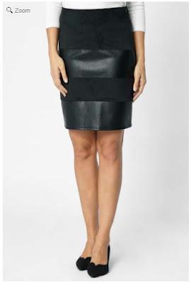 falda negra en oferta