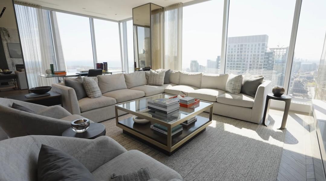 43 Interior Design Photos vs. 183 Wellington St W #3806, Toronto, ON Luxury Condo Tour