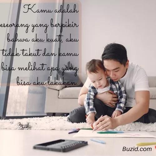 Kata Terimakasih Untuk Ayahnya