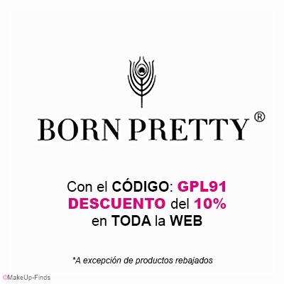 MakeUp-Finds-CON-EL-CÓDIGO-GPL91-Descuento del 10% en BornPrettyStore.com