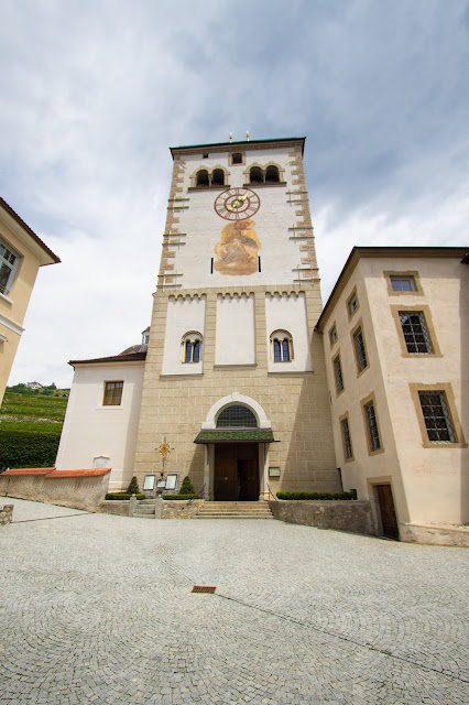 Torre campanaria-Abbazia di Novacella