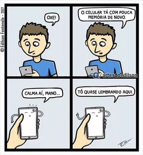 celular com pouca memoria