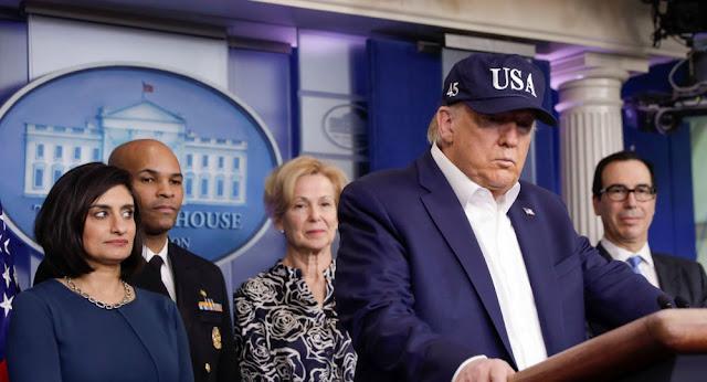 البيت الأبيض يتخذ إجراءات وقائية مع كل شخص يتواصل مع ترامب ونائبه