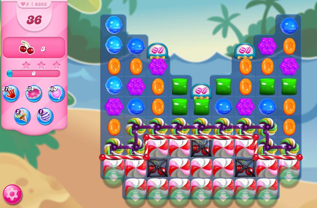 Candy Crush Saga level 8383