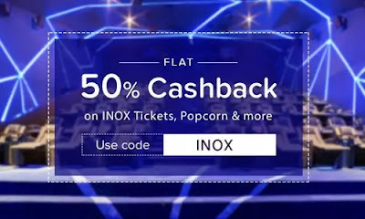 NearBuy INOX Voucher Offer - Rs.250 Cashback
