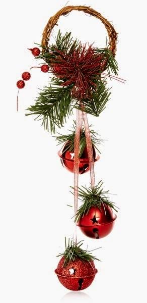Primark decoración: adorno para Navidades de cascabeles en rojo